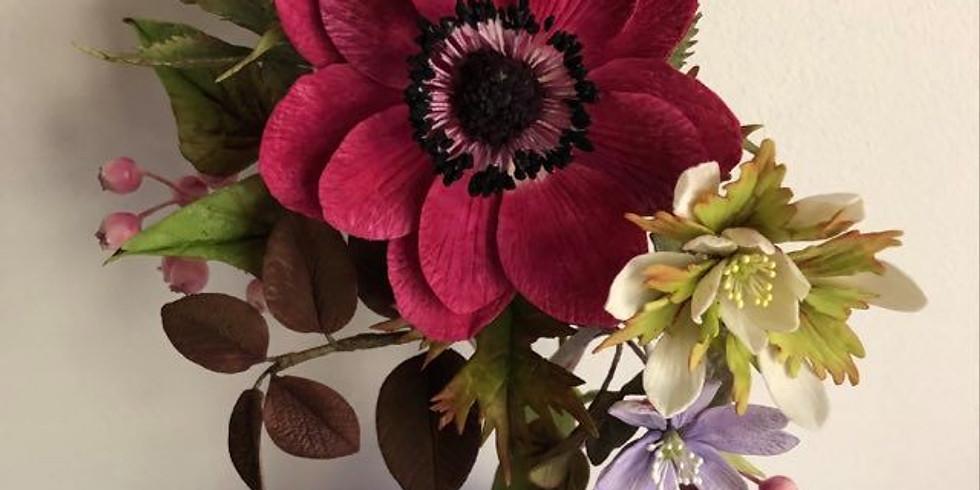 Atelier fleurs en porcelaine froide  (1)