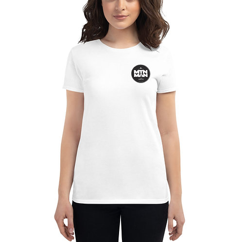 MTN MAN Badge - Women's short sleeve t-shirt