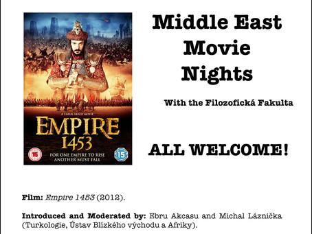 Middle East Movie Nights with the Filozofická Fakulta