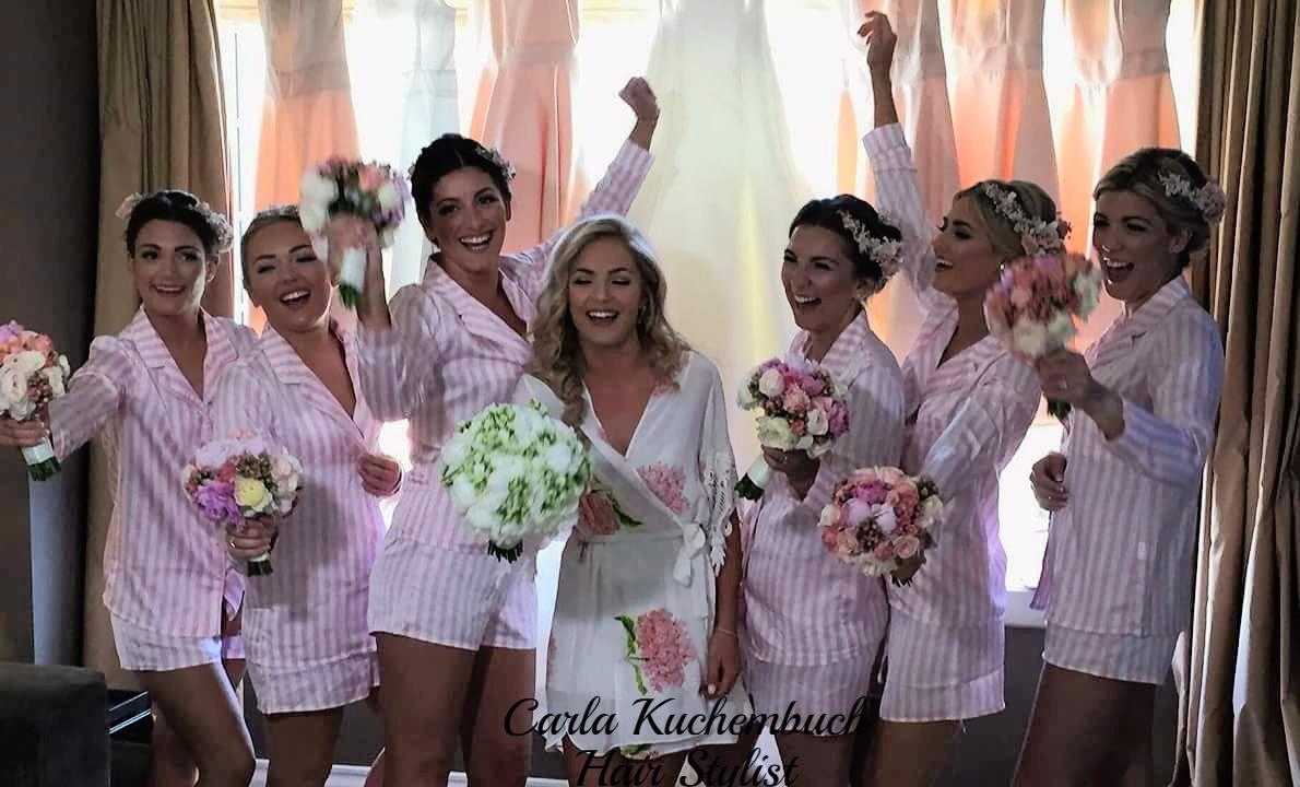 Noiva e as Damas de Honor