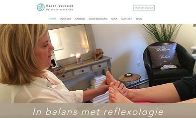 Karin Verreet Voetreflexologie