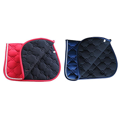 Horse Saddle Pad Breathable Sweat-Absorbent Equestrian Bareback Horse Riding