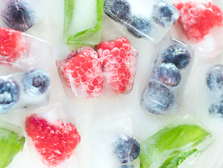 How to defrost your frozen fruits?