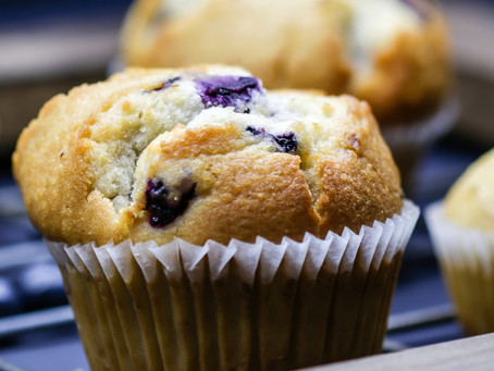 How to bake the best blueberry muffin