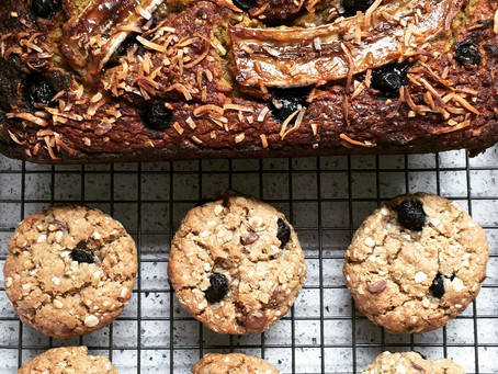 The Best Blueberry Bread & Oat Berry Cookies