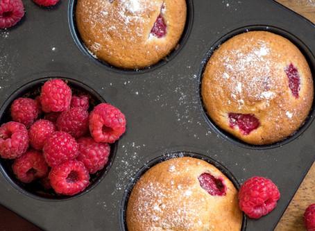 Sujon Raspberry Muffins