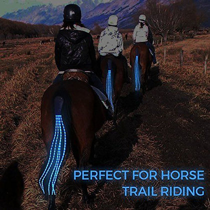 100cm Long LED Horse Riding Tails Riding Product