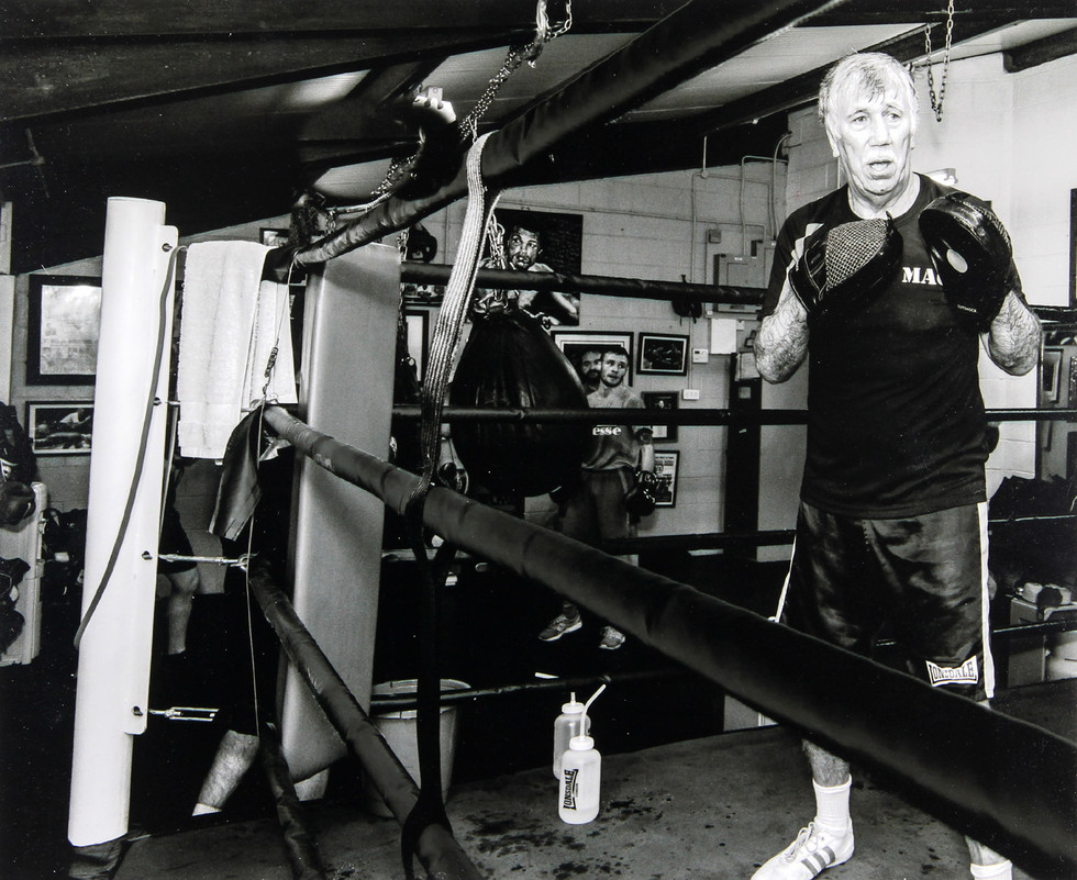 MONO - Breen's Gym by David McClements (7.5 marks)