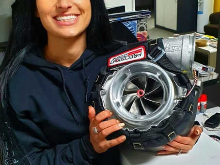 Maria's new 110mm Turbo for RIPSS