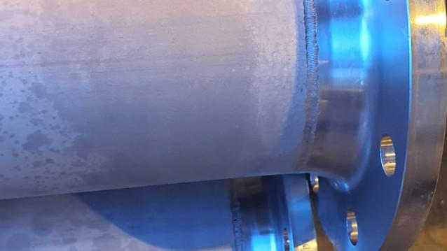 Flange welding