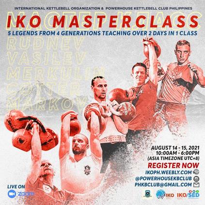 IKO Masterclass_LEVEL 3 Certification course