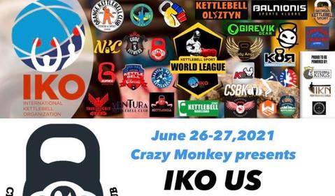 Crazy Monkey presents IKO World League US National Championship