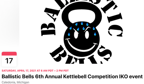 Ballistic Bells 6th Annual Kettlebell Competition IKO event