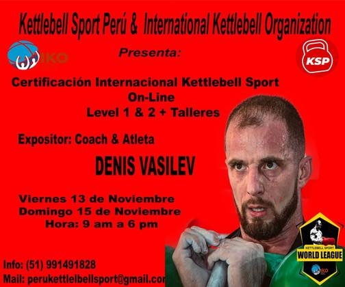 Certificacion Internacional Kettlebell Sport