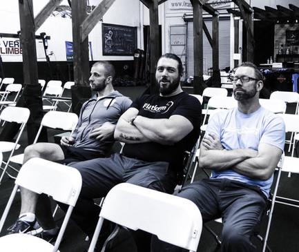 Denis Vasilev, John Wild Buckley, Jason Dolby