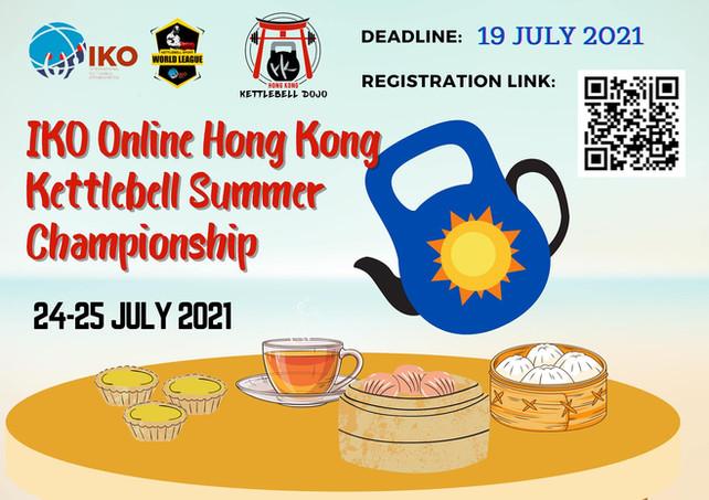 IKO Online Hong Kong Kettlebell Summer Championship 2021