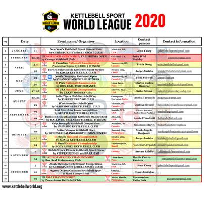 KB WL Calendar 2020