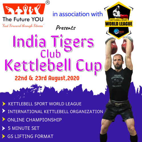 India Tigers Club Kettlebell CUP