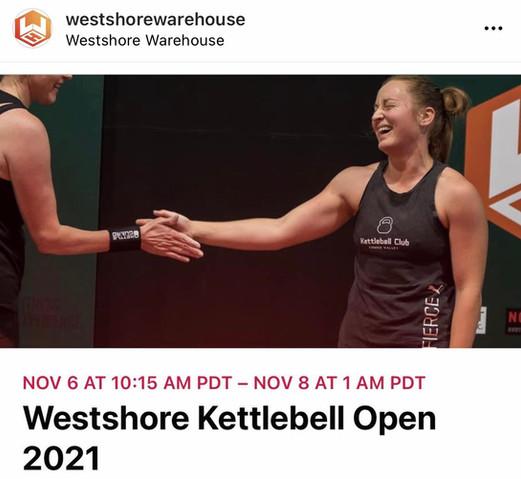 Westshore Kettlebell Open 2021