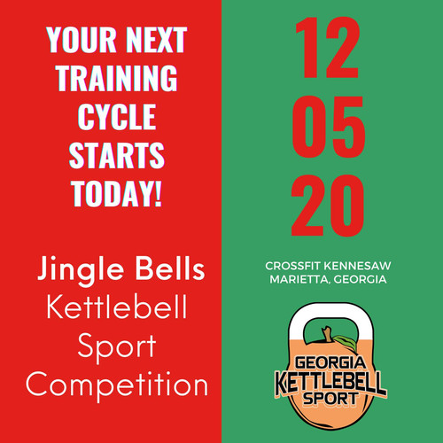 Jingle Bells Kettlebell Sport Competition