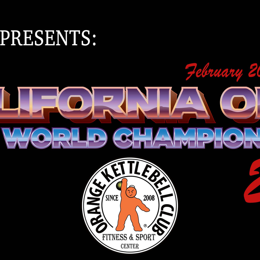 IKO World Championship/ California Open 2021