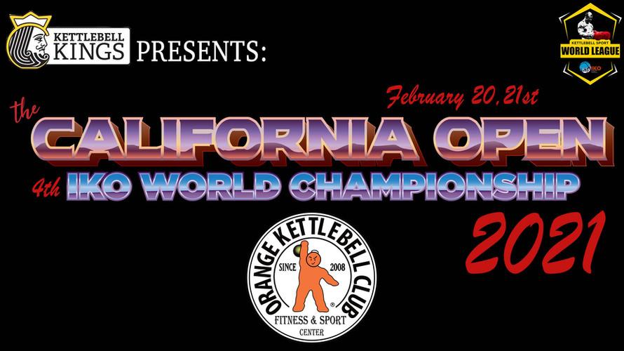 IKO World Championship 2021_California Open