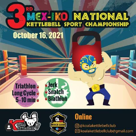 3rd MEX-IKO National KB Sport Championship