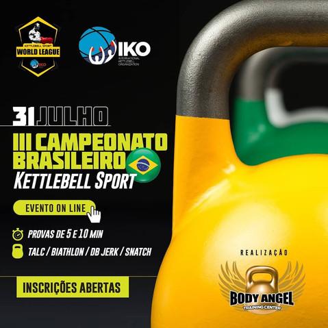 Brazilian Kettlebell Sport Championship 2021