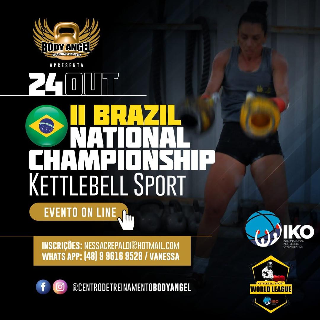 II Brazil National Champioship Kettlebell Sport