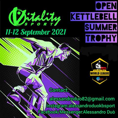 Open Kettlebell Summer Trophy