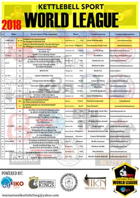 KB WL Calendar 2018