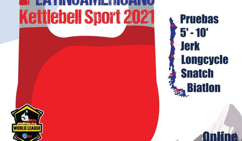 4c Campeonato LatinoAmericano Kettlebell Sport 2021