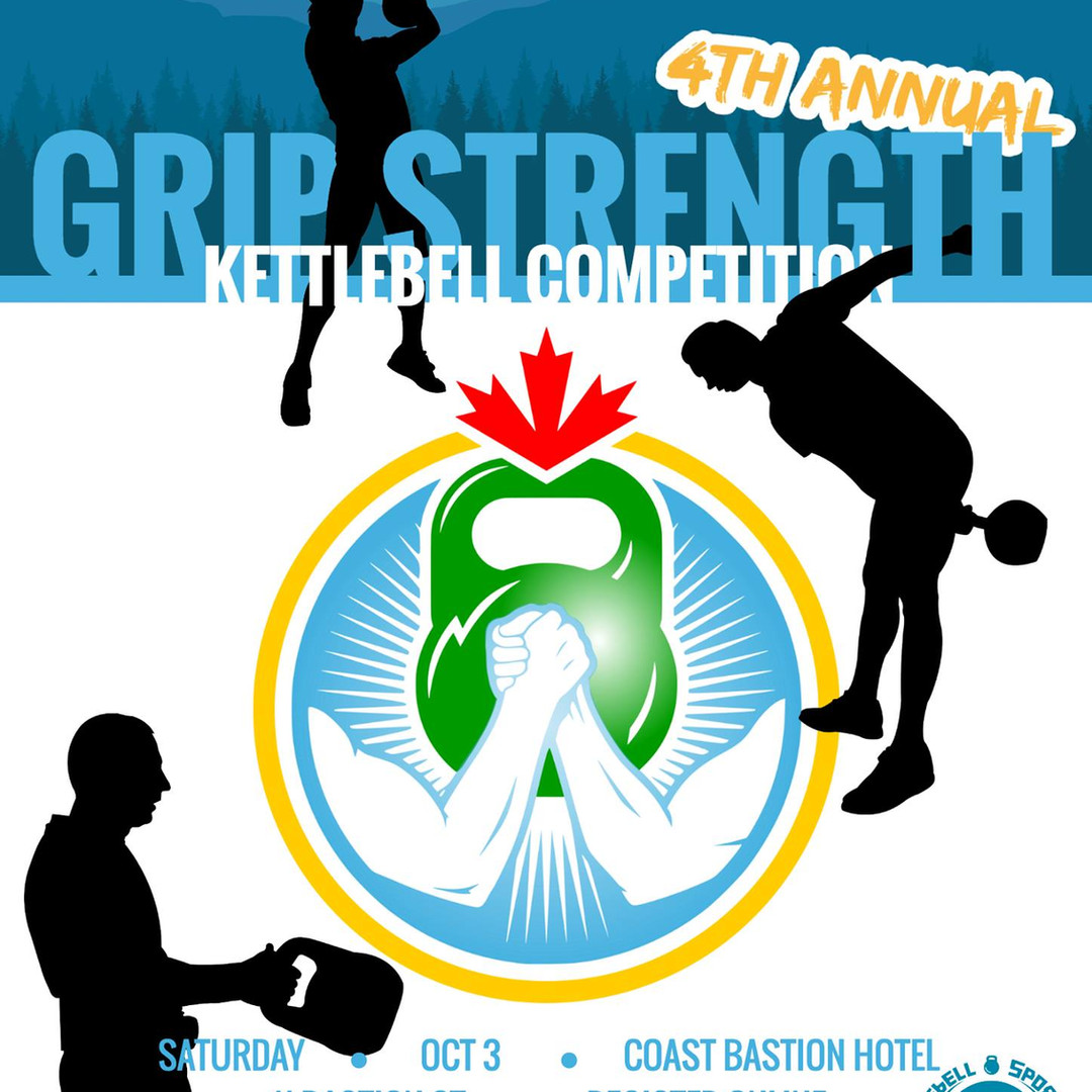 4th Annual Grip Strength Kettlebell Competitions