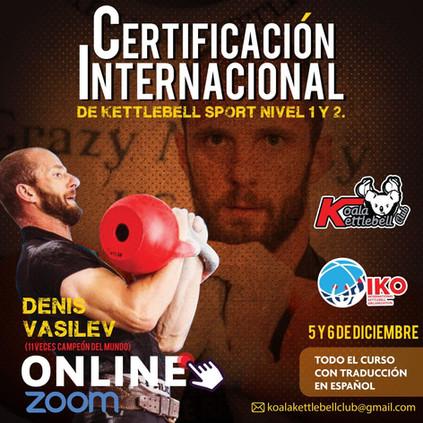Certificacio Internacional de KB Sport Nivel 1 y 2