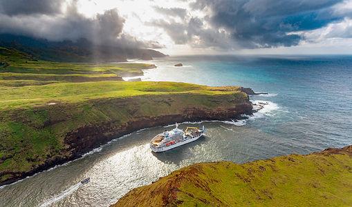 Südsee - Mit dem Postschiff zu den Marqu