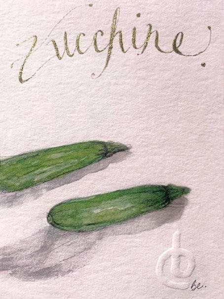 ZUCCHINE green