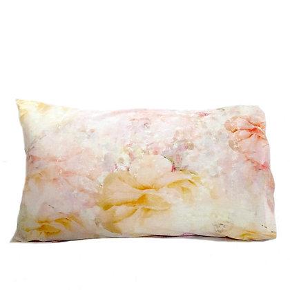floral garden pillow slip