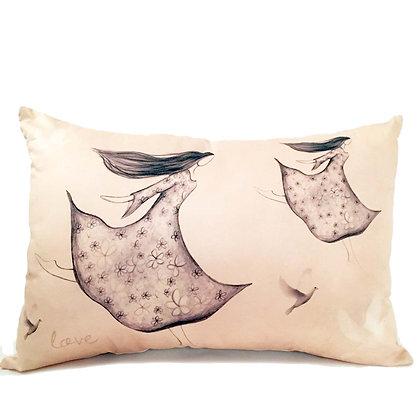 love cushion rectangle