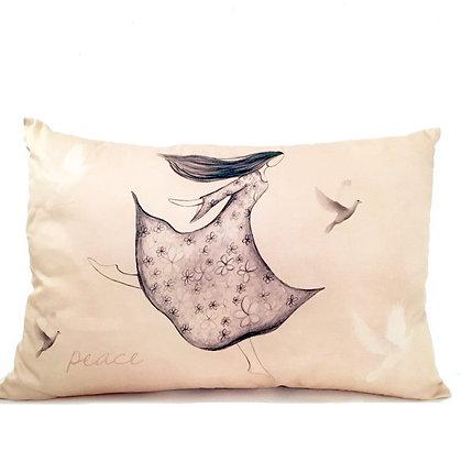 peace cushion rectangle