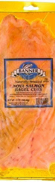 Lox (Banner brand from Brooklyn - 2 servings)
