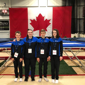 Championnats de l'Est du Canada en trampoline