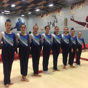 L'année de compétition s'annonce bien pour nos gymnastes