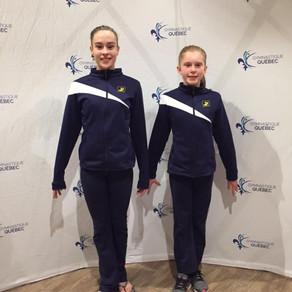 4 gymnastes aux Championnats Québécois