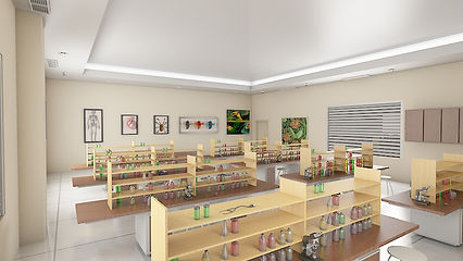 Manipal Global School - Science lab