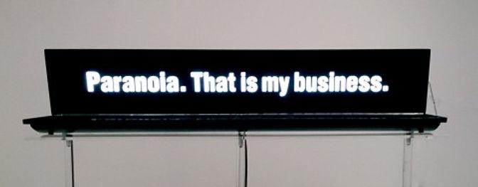 MKKaehne_Paranoia. that is my business, 2014, Acrylglas, LED, 12,5 x 70 x 6 cm.jpg