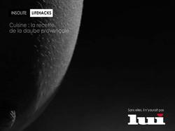 LUI Magazine - Cuisine
