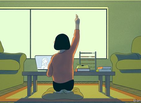 Virtual Classes 'Distanc'ing Education