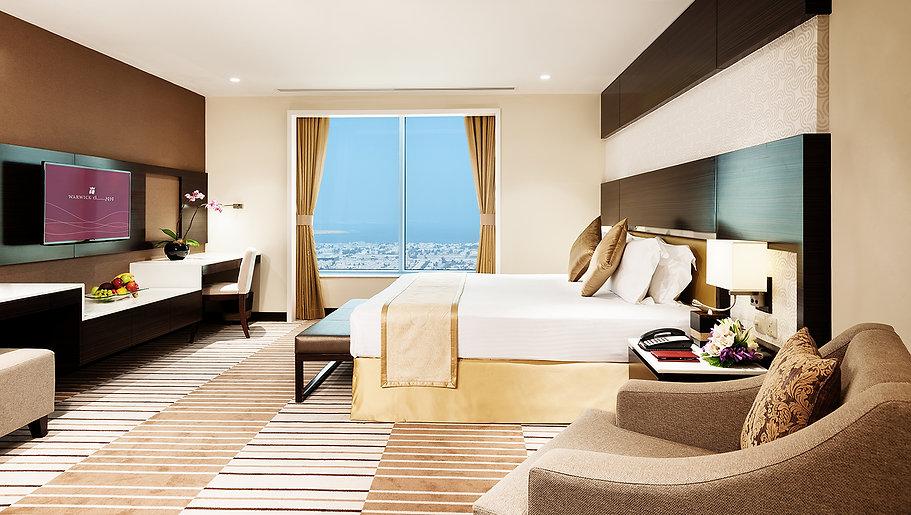 Carlton Tower Hotel Room Interior