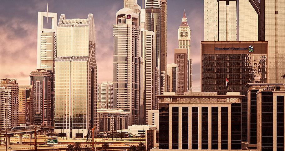 Architectural Exterior Photography Warwick Hotel Dubai