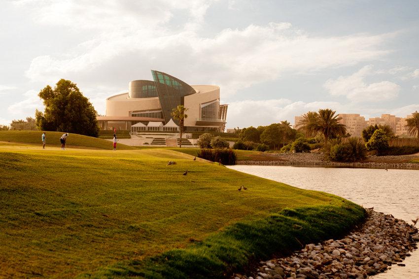 Architectural Photographer Dubai Festival City Golf Course